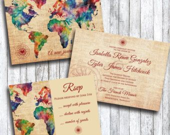 Here Are Some Travel Themed Wedding Invitations That We Have Covered On PlumeGiant Id Love To Share The