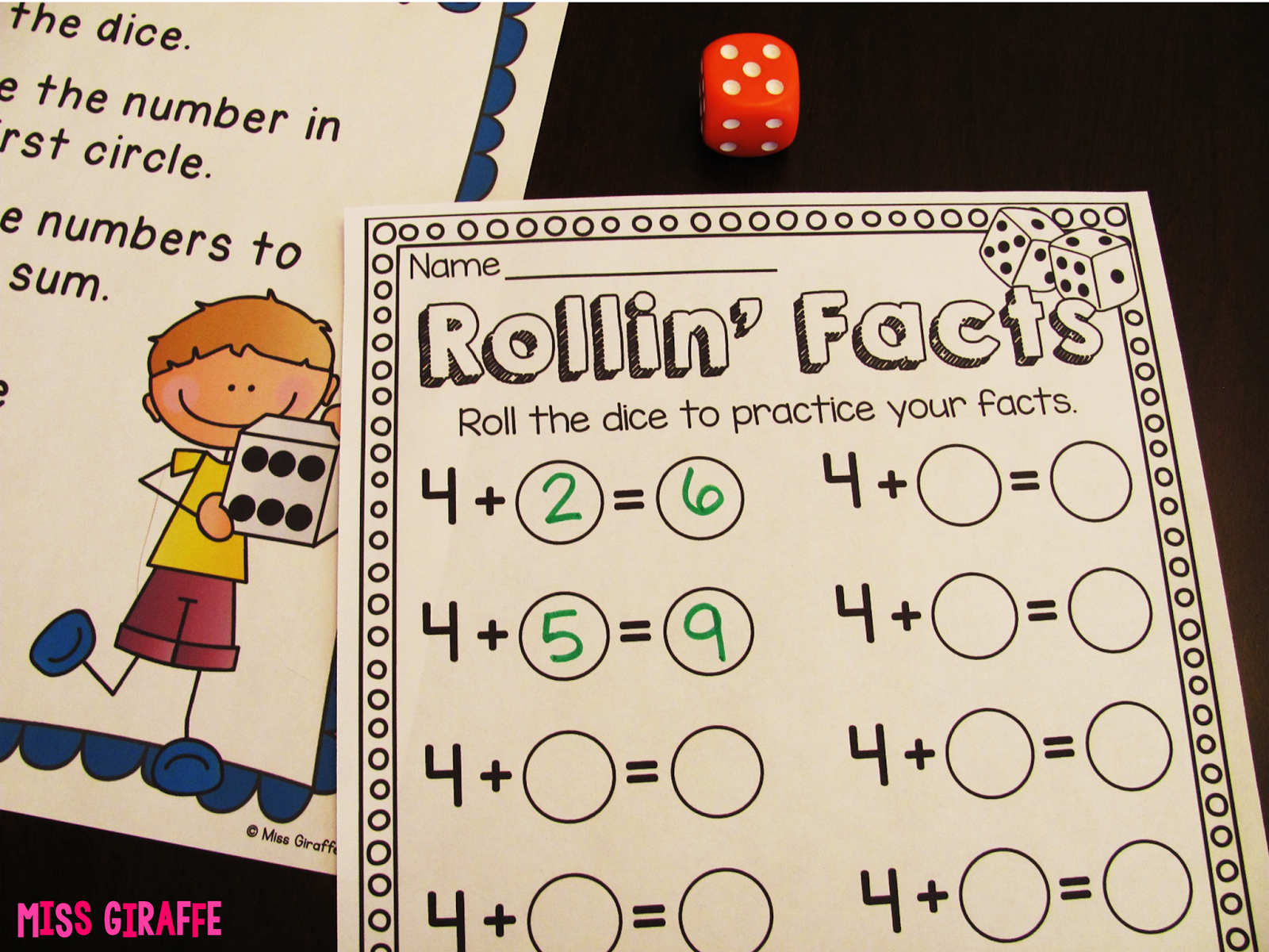 Fact Fluency In First Grade With Images