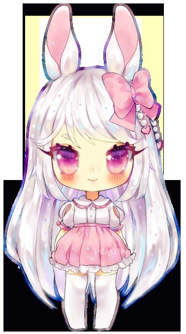 C Mikatsune by Pemiin on DeviantArt Cute anime chibi