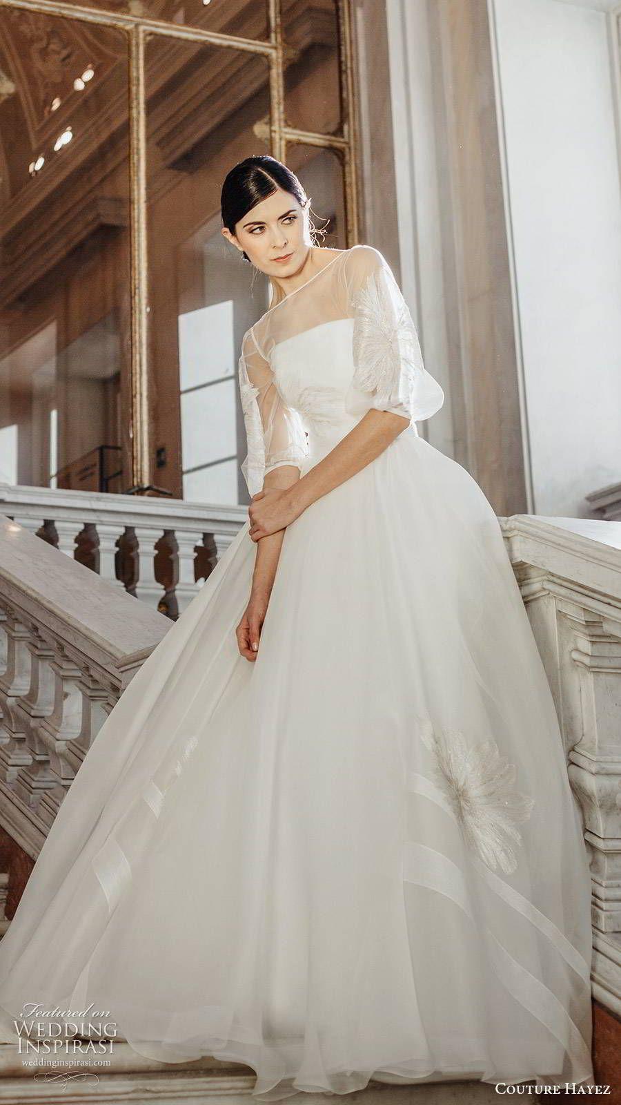 "Couture Hayez 2020 Wedding Dresses — ""High Society"" Bridal"