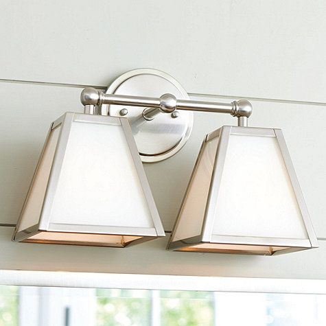 Amelie Vanity Double Sconce Lighting Amelie Vanities And Silver - Triple bathroom sconce