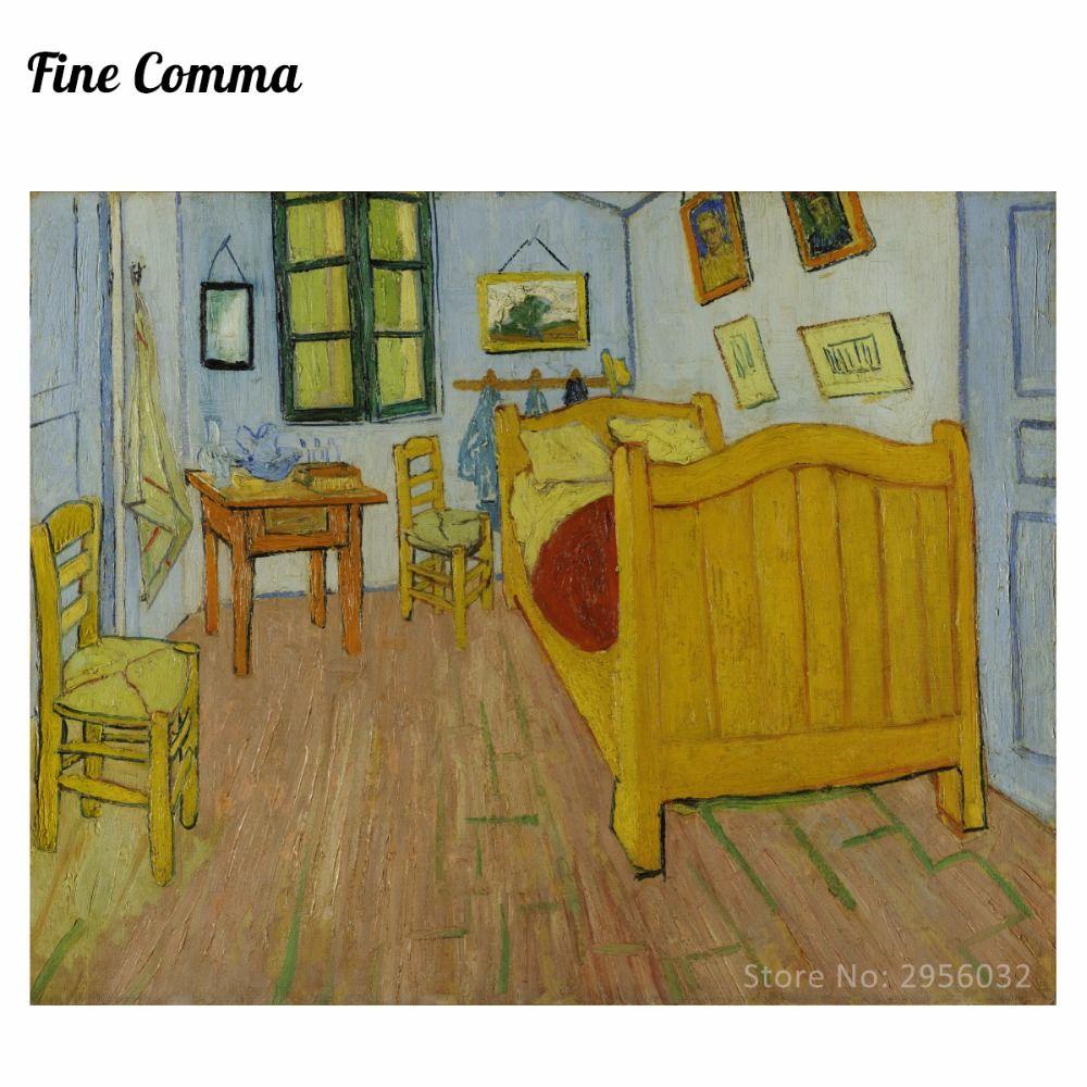Bedroom in Arles 2nd version by Vincent van Gogh Hand painted Oil ...