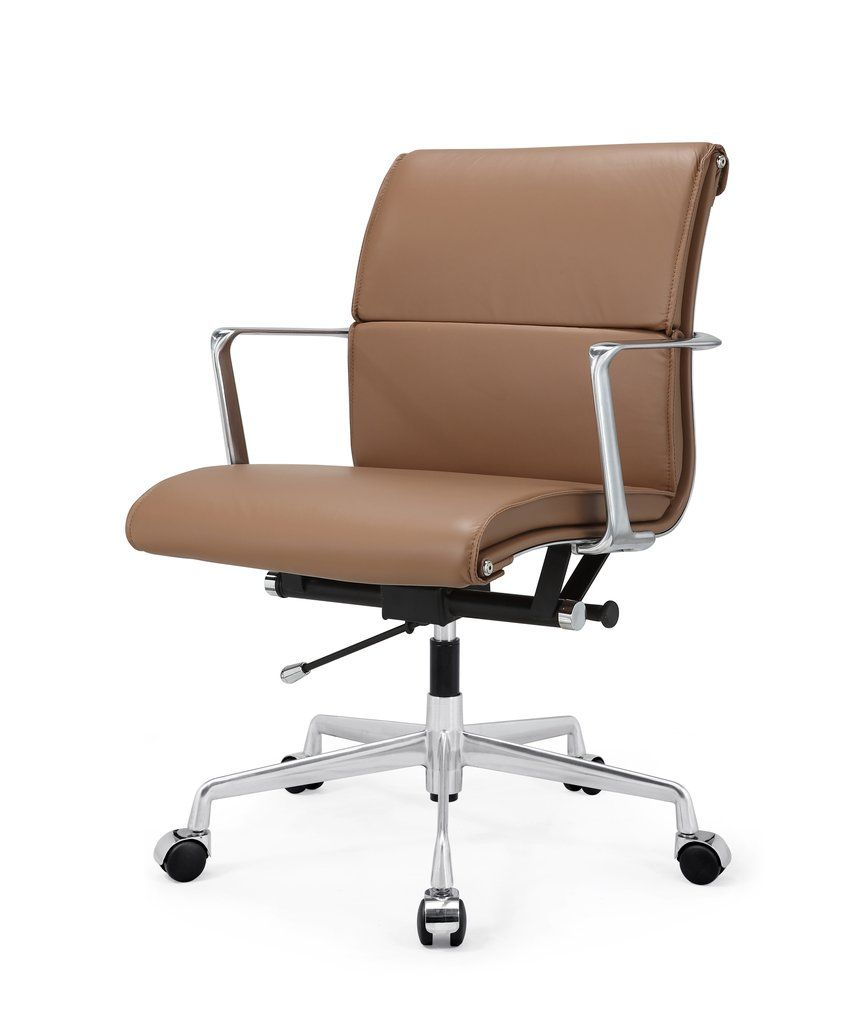 Modern Office Chair M347 In Italian Leather Shop From A Curated Selection Of Modern Functional And Comfo Modern Office Chair Leather Office Chair Office Chair