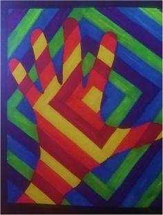 Foldaway Tote - ColoredTriangles Tote by VIDA VIDA DPV7w