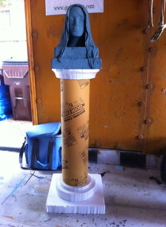 Use QUIK-Tube Building Forms to create the columnar base for a ...