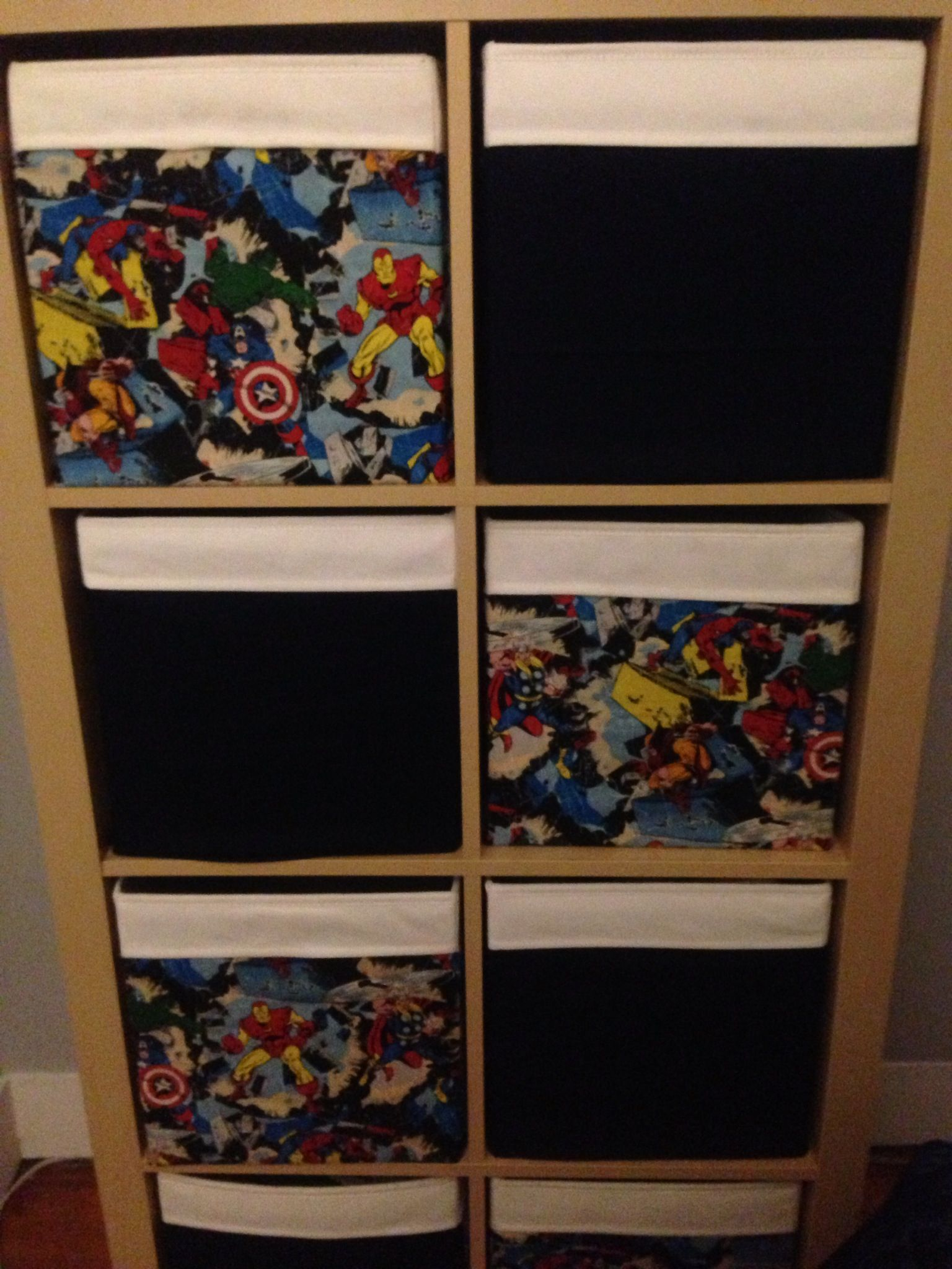 Dulux Avengers Bedroom In A Box: For My Sons Avengers Room - IKEA Drona Box