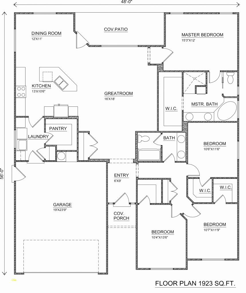 Floor Plan Template Free Awesome Free Floor Plan Template Unique Free Printable Home Plans In 2020 Home Design Floor Plans Free House Plans Floor Plans