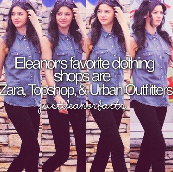Eleanor's fav shops