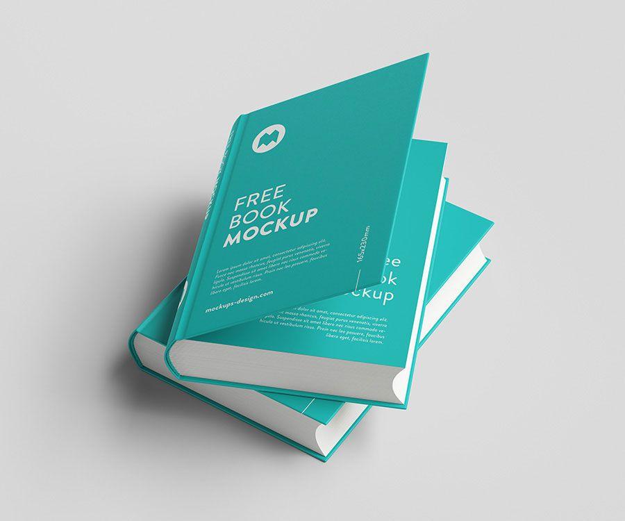 Free Thick Book Mockup Mockuptree Free Mockup Book Book Presentation Photoshop Mockup Free