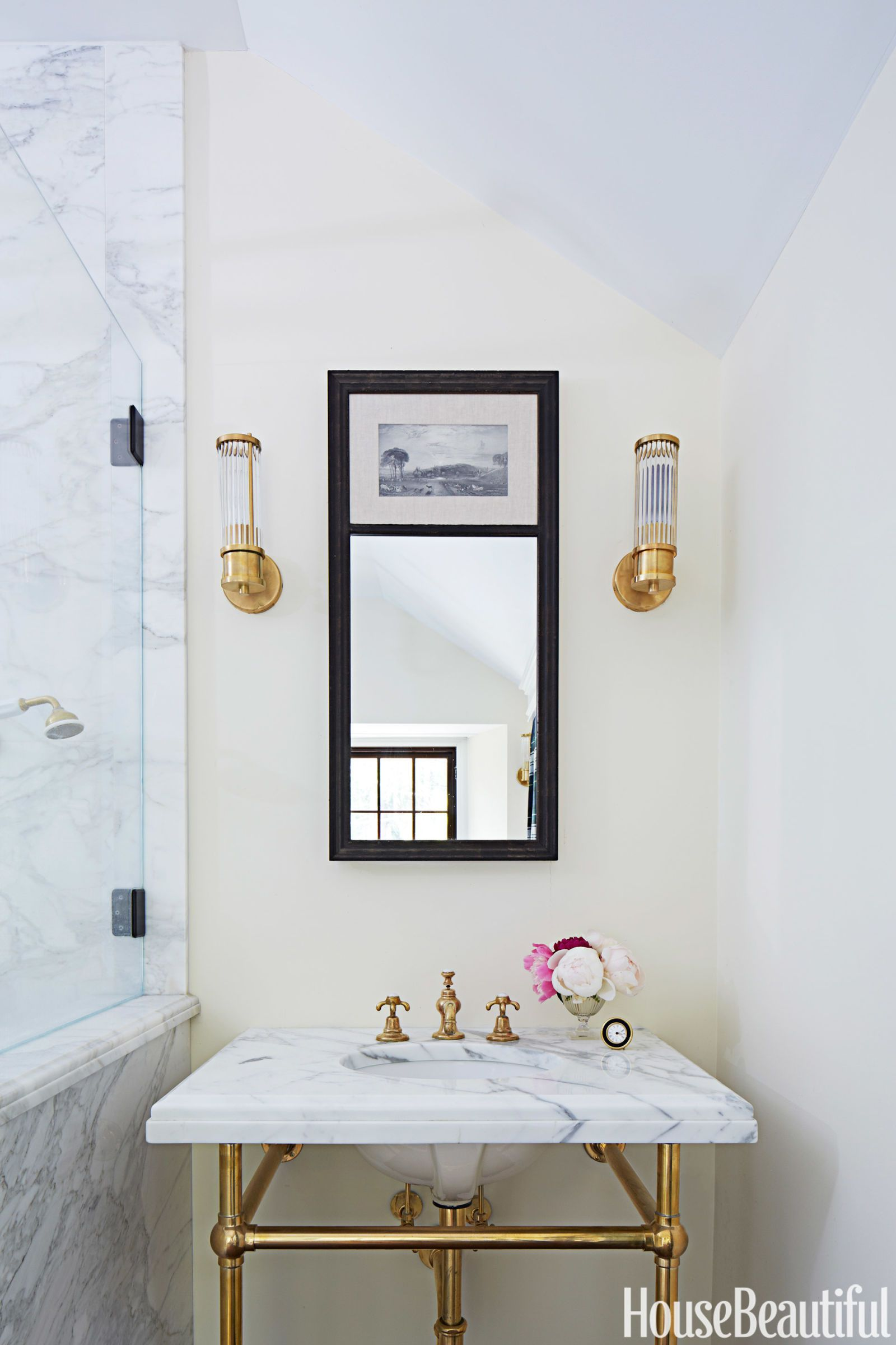 Get The Look A Bathroom Inspired By Gilded Age
