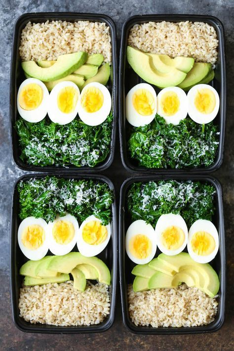 Avocado And Egg Breakfast Meal Prep