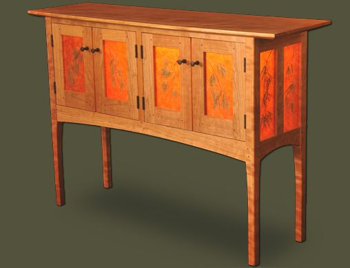 Unique Wood Furniture Handcrafted Our custom made cherry Thread