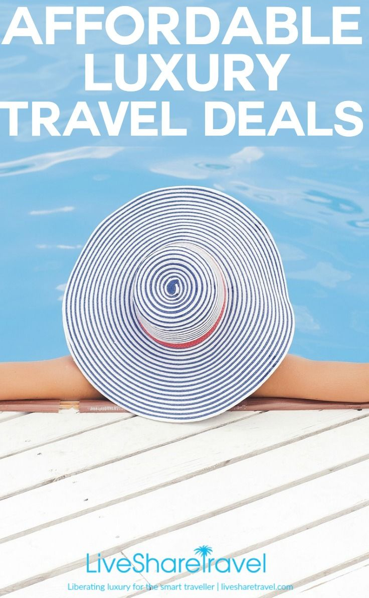 Discovering luxury for less is at the heart of what we do on LiveShareTravel - we believe we should all be able to liberate a little luxury on our travels with great affordable luxury travel deals. Welcome to our travel deals series bringing you a host of affordable luxury travel deals for smart travellers.
