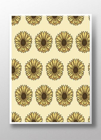 Hand painted sunflower | Backgrounds AI Free Downl