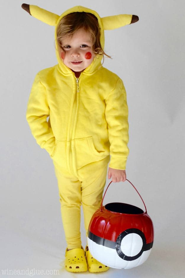 19 Easy Homemade Halloween Costumes You Can Make For Your Kids ...