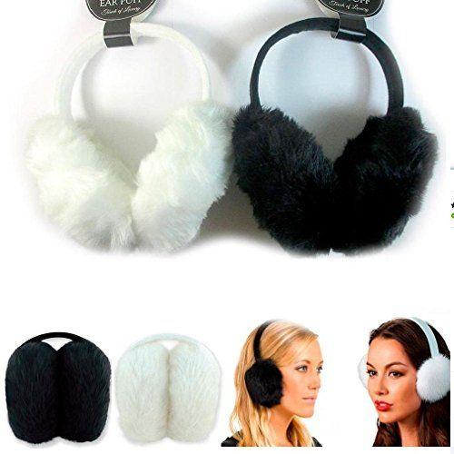 d830e05046b60 General New 1 Pc Women S Faux Fur Fluffy Ear Muffs Warmer Plush Band Earmuffs  Earlap Winter