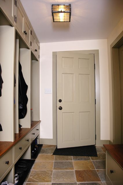 Stained Beadboard Mudroom Or House Mud Mudroom I Hangers Climate Mudroom And Houzz Mudroom Custom Cabinetry Narrow Rooms