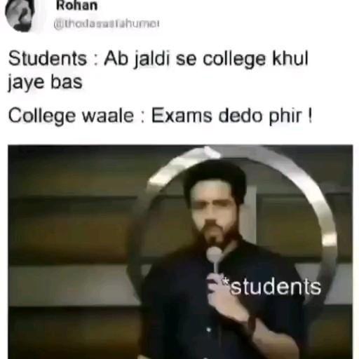 Student jokes