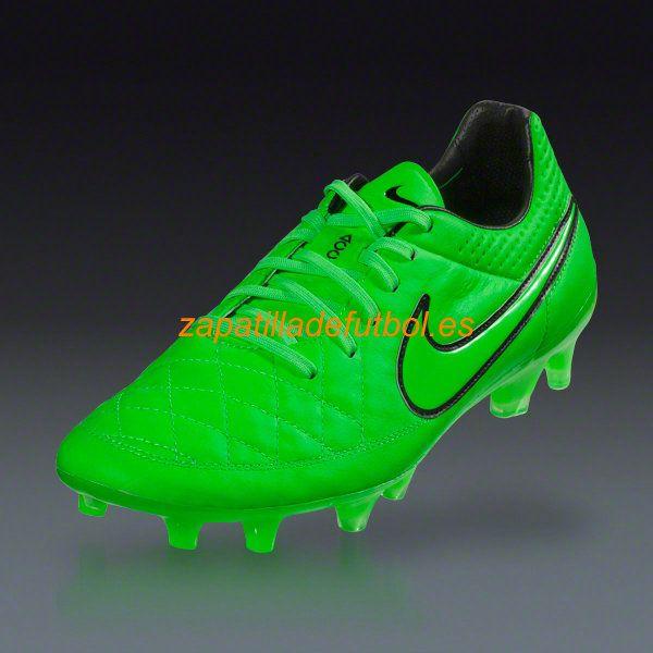 Barato Zapatos de Soccer Nike Tiempo Legend V FG Para Terreno Firme Verde  Atacan De Nuevo