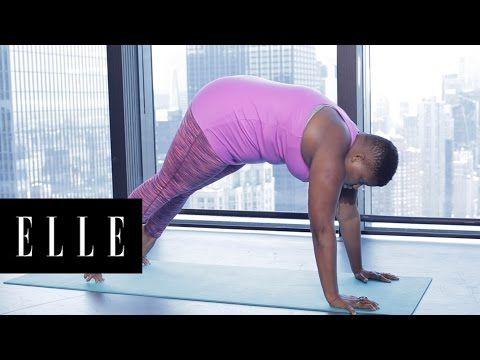 morning yoga flow  elle  youtube  yoga videos for
