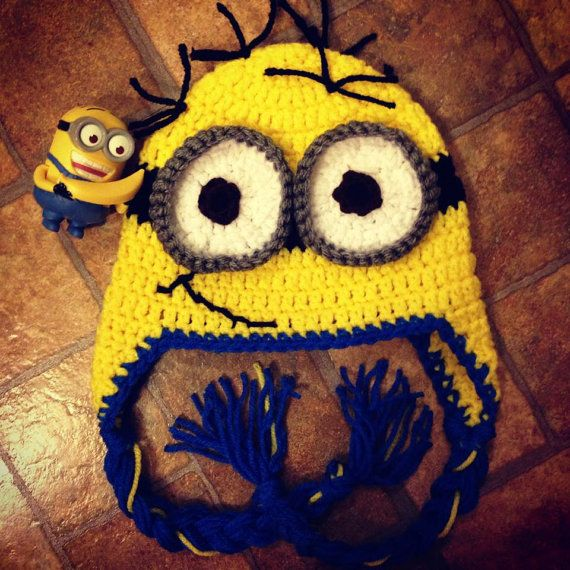 Baby Toddler Child Crocheted Minion Hat From by emiepdesigns, $20.00 ...