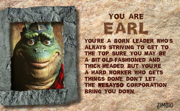 What Character from 'Dinosaurs' Are You?