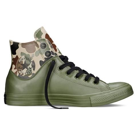 59d377572 Camo Rubber Chuck Taylor Sneakers by Converse