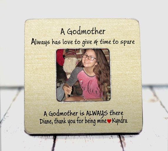 godmother gift best godmother gift Godmother frame custom frame ...