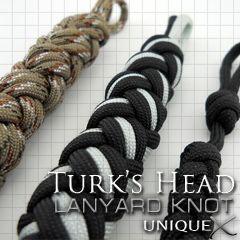 Unique Ropecraft Unique Turk S Head Lanyard Paracord Diy Paracord Tutorial Knots Diy