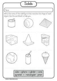 Solids   Maths   Pinterest   Mathematik und Geometrie