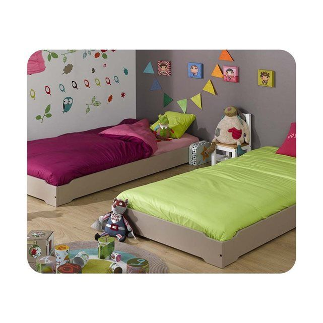 Découvrez nos lits empilables de toutes les couleurs pour votre