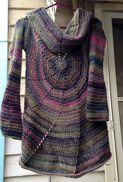 Project Gallery for Pinwheel Sweater pattern | Crochet clothing ...