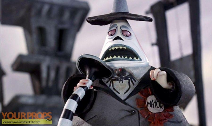 The Nightmare Before Christmas Original Movie Prop Nightmare Before Christmas Mayor Nightmare Before Christmas Characters Nightmare Before Christmas
