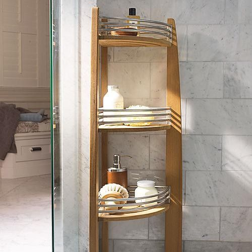 Brown Corner Shelf Caddy Traditional Bath And Spa Accessories Want For M Br