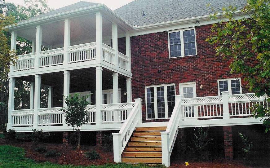 Roof Design Ideas: Charlotte Porch 4 - Charleston Style Double Porch