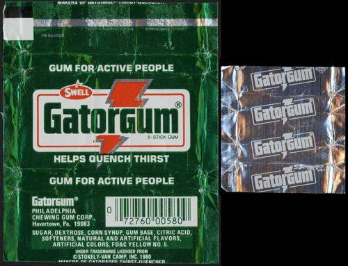 Gatorade gum!