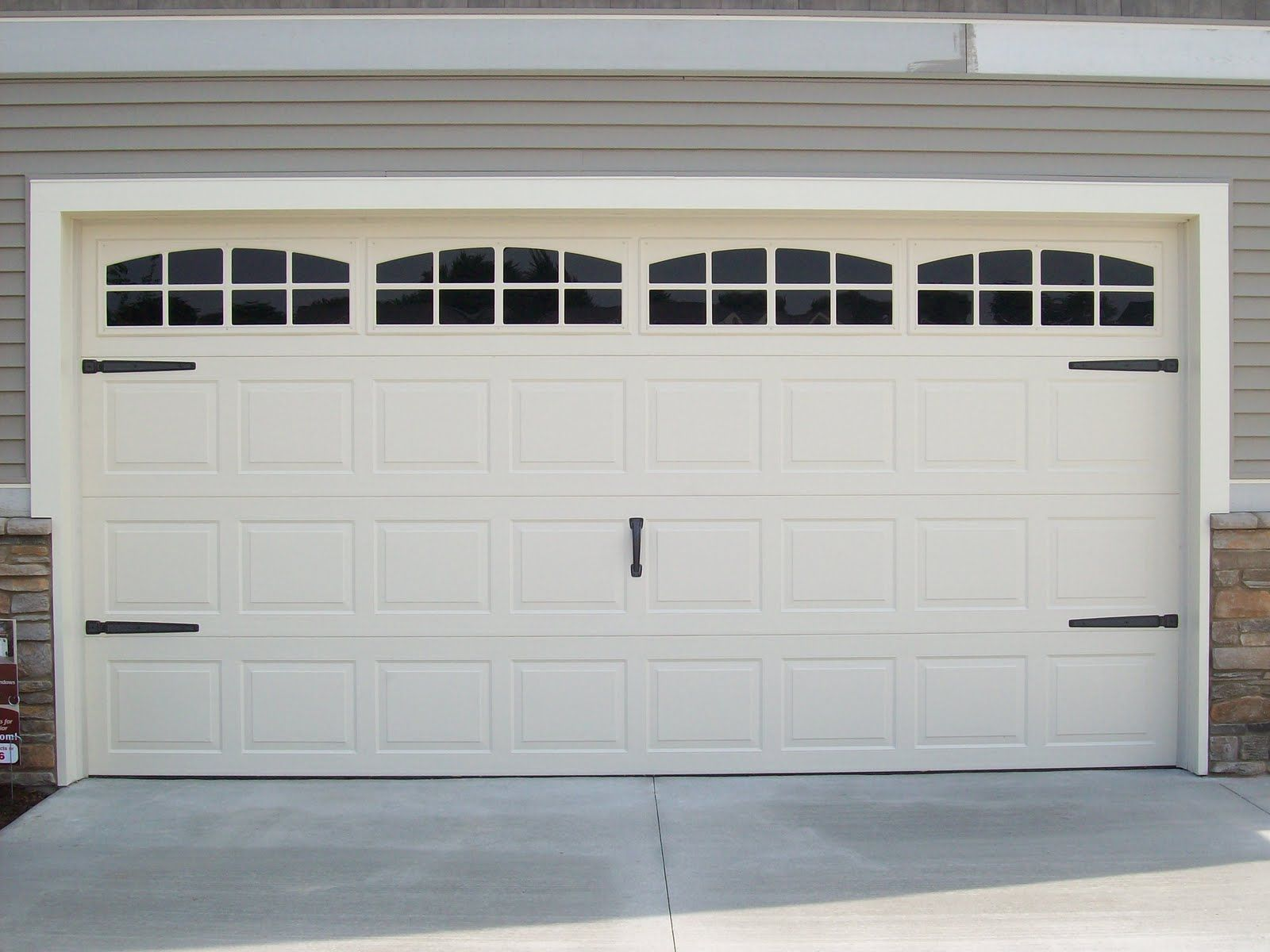 Faux Garage Door Hardware Faux Fake Garage Door Windows Custom Carriage House Window
