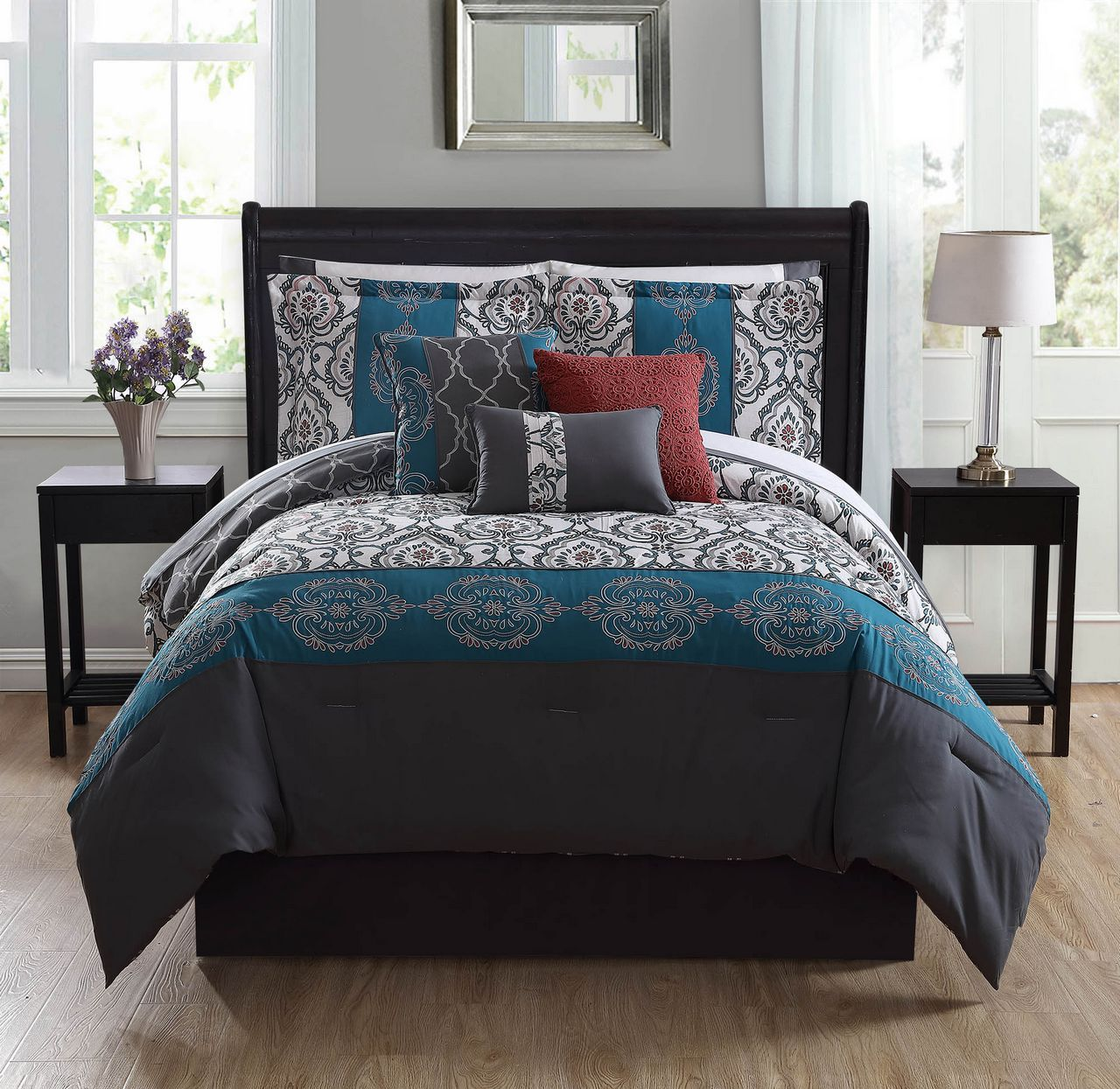 unique sets cover teal piece covers buchanan comforter duvet color set furniture beautiful ideas