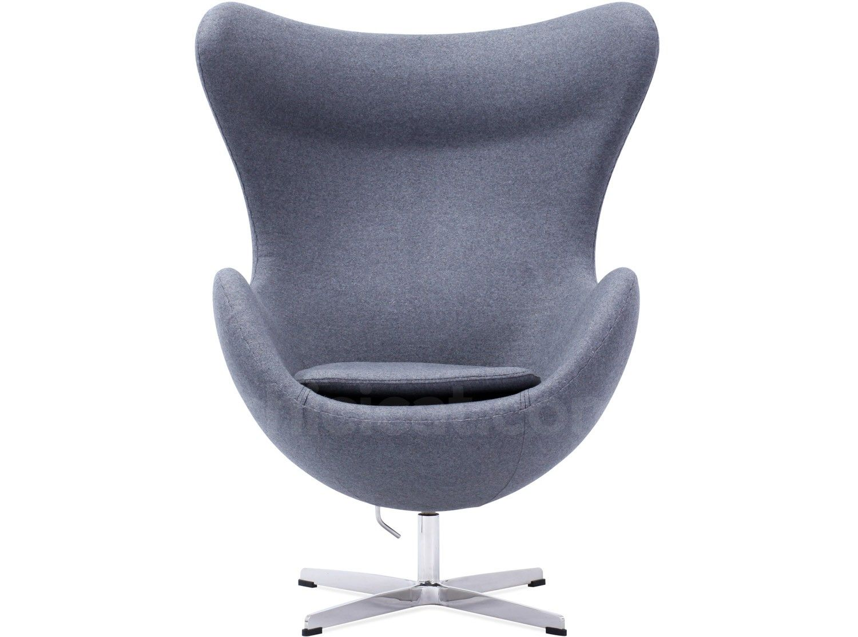 Arne Jacobsen Egg Chair Platinum Replica Egg chair