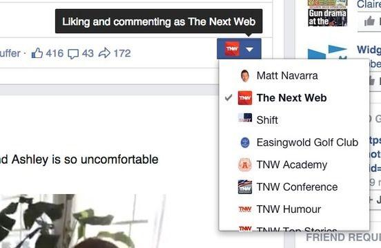 #Facebook Testing Clearer Post-Attribution Menu for Page Admins | Inside Facebook | #socialmedia
