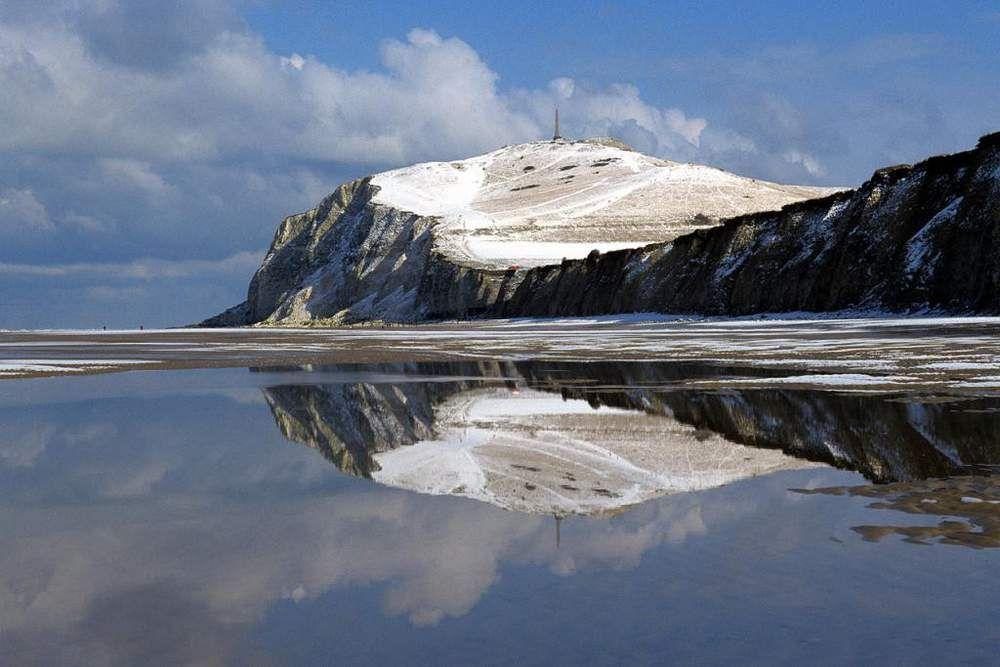 L Hiver Vu Par La Communaute Geo Lofoten Iles Lofoten Cap Blanc Nez
