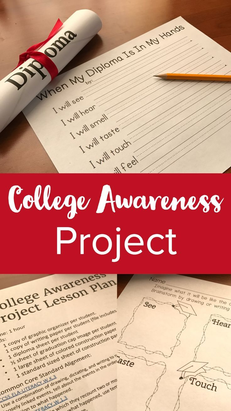 College and Career Readiness Goal Setting Activity Goal