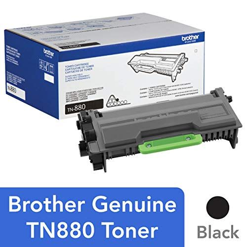 Brother Genuine Super High Yield Toner Cartridge TN880 Replacement Black Toner Page Yie