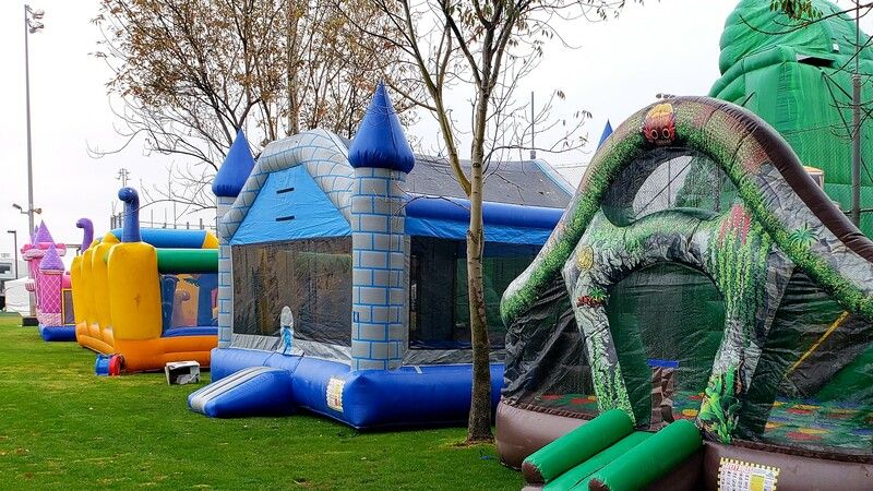 Bouncers, inflatable bounce houses for your little jumpers