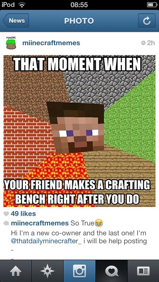 Minecrafty Minecraft Funny Minecraft Minecraft Jokes