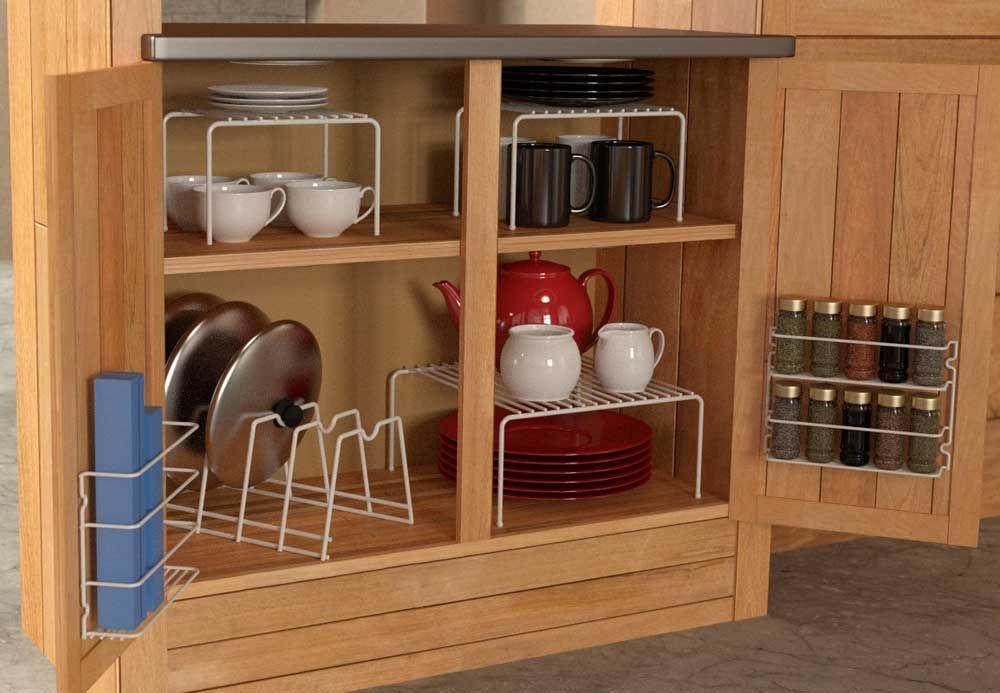 organizing bottom kitchen cabinets | Organizing Kitchen Cabinets ...
