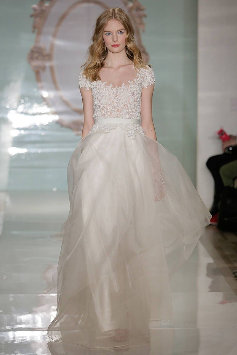 The Best New Wedding Dresses | Reem acra, Spring 2015 and Wedding ...