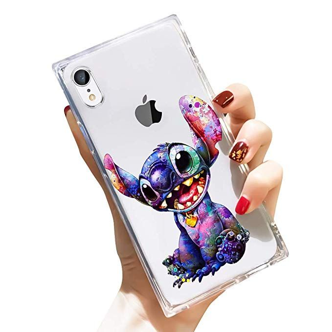DISNEY COLLECTION iPhone XR Case Square Clear