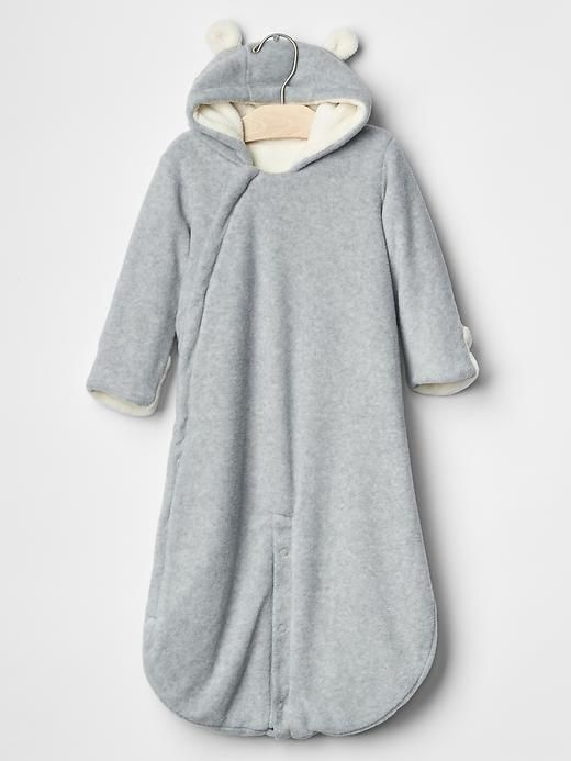 3ab1bddf2a44 Fleece convertible bear bundler - I had to get this for him ...