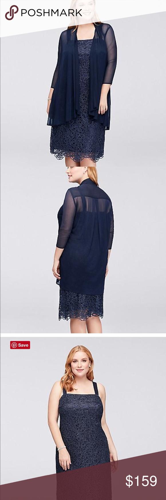 R u m richards navy dress plus size beautiful navy blue beaded dress